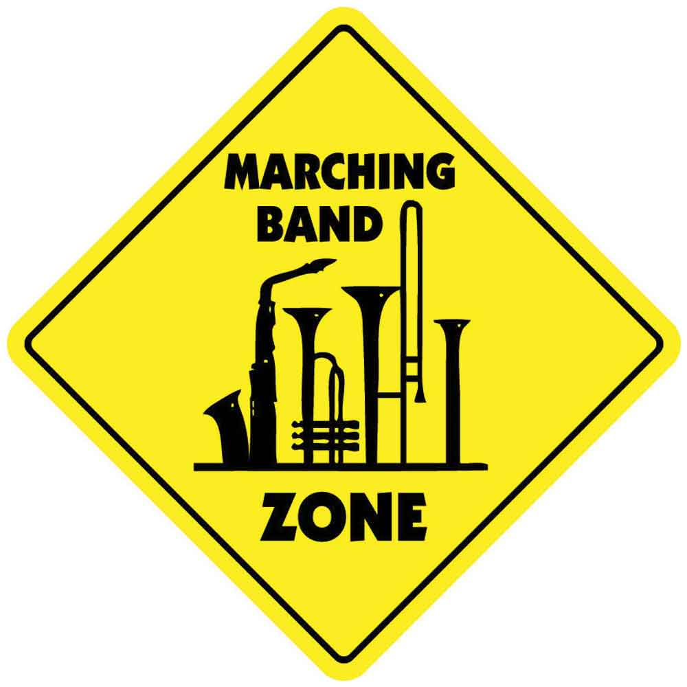 MARCHING BAND ZONE TAG DAY